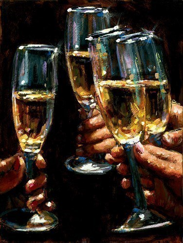 Image: ART00139316 (Brindis Con Champagne - Vertical)